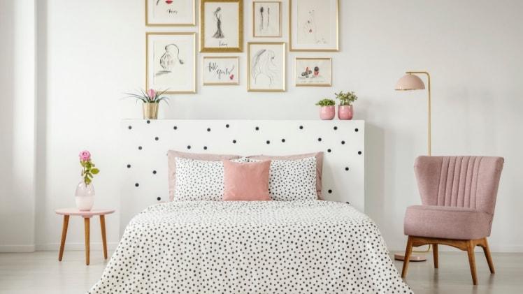 Declutter bedroom